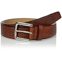 Cole Haan mens Cole Haan Washington Grand 32mm Laser Perf Belt