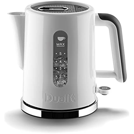 Dualit 72142 1 5L Studio Kettle White Grey