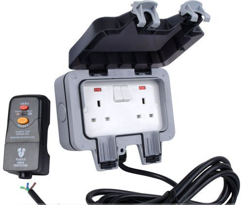 Excellent Hdiuk 10M Outdoor Socket Wiring Kit Rcd To Twin Ip66 Amazon Co Uk Wiring Cloud Mangdienstapotheekhoekschewaardnl