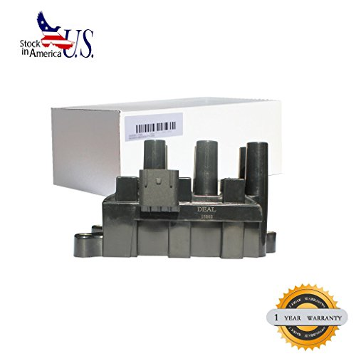 Deal 1pc Brand New Ignition Coil Pack (6 in 1) For Ford E150 E250 F150 Heritage Freestar Taurus Windstar Mustang Ranger/ Mazda MPV B3000 Mercury Sable Cougar Monterey 2.5L/3.0L/3.8L/3.9L/4.2L (2001 Mustang V6)