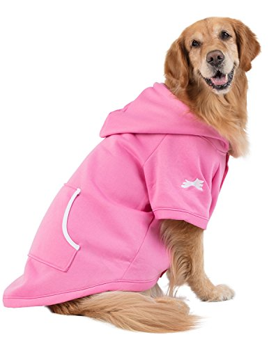 Footed Pajamas Family Matching Pink Pet Hoodie - XXLarge -