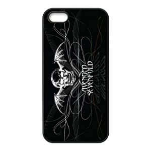 Classic Case Avenged Sevenfold pattern design For Apple iPhone 5,5S Phone Case