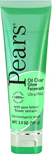 Pears Oil Clear Glow Facewash with Lemon Flower Extracts 3.5 (Glow Face Wash)