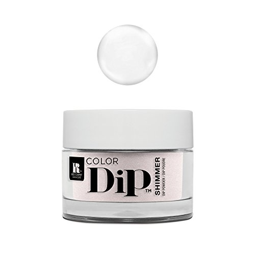 Red Carpet Manicure Color Dip Nail Dip Powder, Natural Sheer Clear Base 0.3 oz