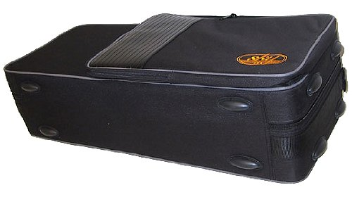 SKY Lightweight Case for Trumpet, Backpackable, Black by Sky Music (Image #2)