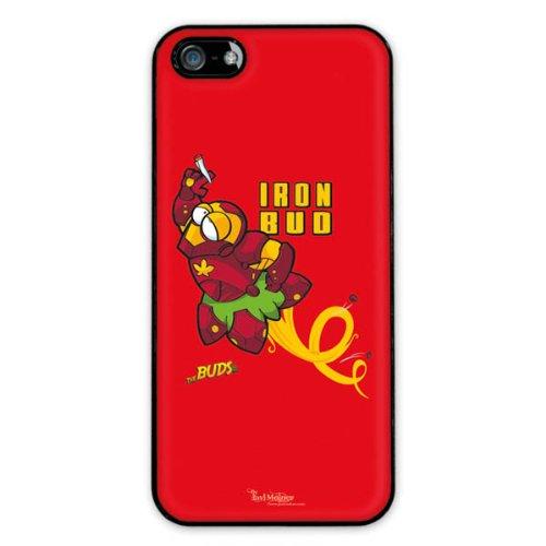 Diabloskinz H0081-0066-0059 Iron Bud Schutzhülle für Apple iPhone 5/5S