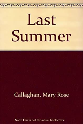 book cover of Last Summer