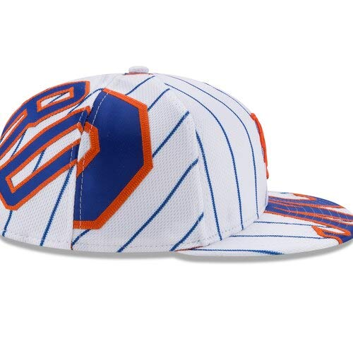 New Era NOAH Syndergaard New York Mets White Player Authentic Jersey V1 9FIFTY Snapback Adjustable HAT by New Era (Image #2)