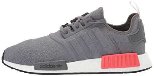 adidas Originals Men's NMD_R1 Running Shoe, Grey/Shock red, 4 M US by adidas Originals (Image #5)