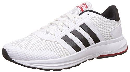 adidas Cloudfoam Saturn, Chaussures de Tennis Homme, Blanc Cassé (Ftwbla/Negbas/Escarl), 40 EU