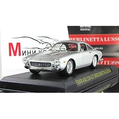 Ferrari 250 GT Berlinetta Lusso Silver 1:43 Scale Diecast Model Car 1955 Year: Toys & Games