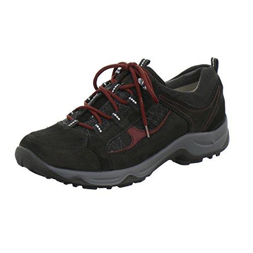 Waldläufer Hadel 944005-400-867 schwarz/brunello Weite H