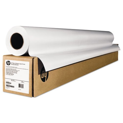 "HP - Wide-Format Matte Canvas Paper Roll, 42"" x 50 ft, 16 mil, White E4J56B (DMi RL from HP"