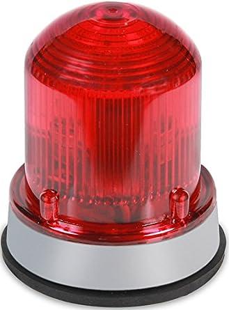 Black Base Normal Output 175K Peak Candela Edwards Signaling 125STRNA120AB Flashing Xenon Strobe Beacon 120V AC Amber Corrosion Resistant Enclosure