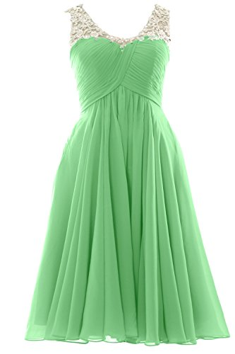 Gown V Minze Party Wedding Formal Gorgeous Homecoming Short Dress MACloth Neck Prom TwF4PPvq