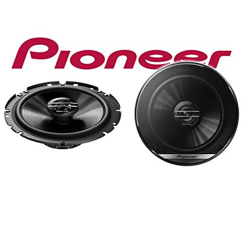 16cm 2-Wege Koax Koaxiallautsprecher Auto Einbausatz VW Touran 1 Front Einbauset Lautsprecher Boxen Pioneer TS-G1720F