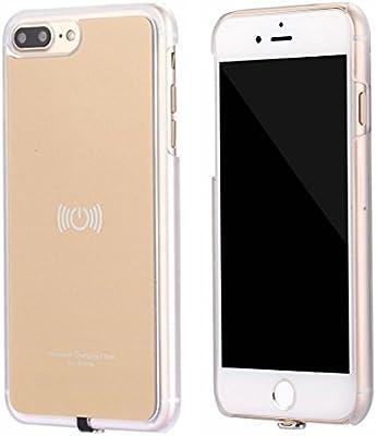 hanende Kit de Cargador Inalámbrico para iPhone 7 Plus, Qi Carga inalámbrica Pad y Receptor inalámbrico para iPhone 7 Plus (Oro)
