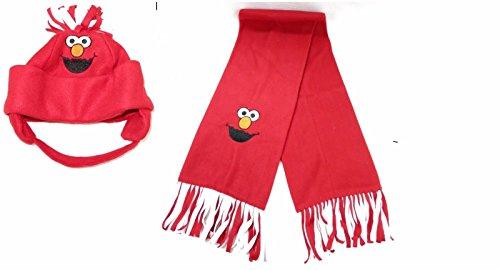 Elmo Fleece Scarf Child Toddler