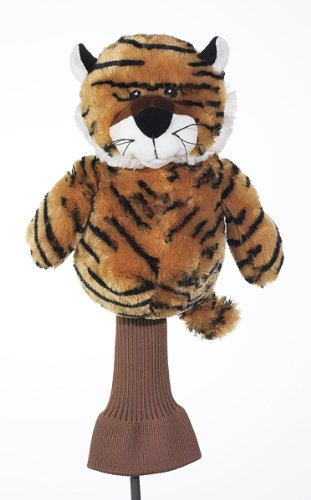 Golf Tiger in the Woods Golf Club Head Cover ()