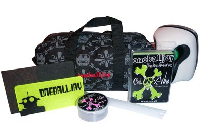 Waxing Iron Snowboard (OneBall Jay Ski/Snowboard Tune Kit With Waxing Iron and Wax)
