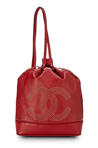 Red Chanel Handbag - 3