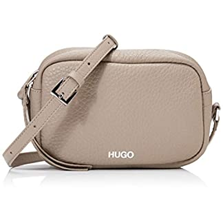 HUGO Damen Downtown Crossb-s Schultertasche Beige (Medium Beige) 12