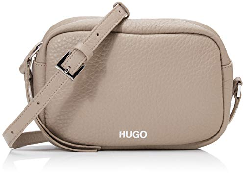HUGO Damen Downtown Crossb-s Schultertasche Beige (Medium Beige) 1