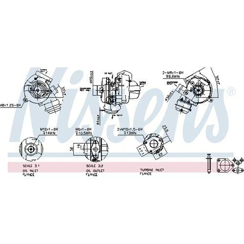Nissens 93242 Turbo Charger: