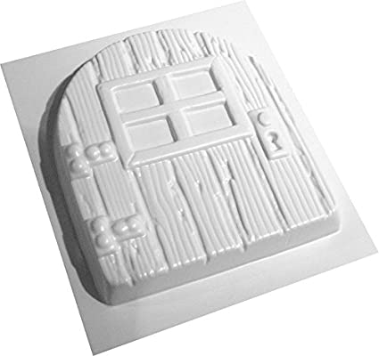 Fairy door mold plastic plaster concrete casting mould