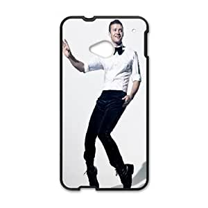 Celebrities Justin Timberlake HTC One M7 Cell Phone Case Black Exquisite gift (SA_716195)