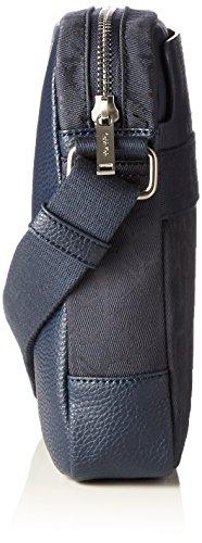 Calvin Klein Jeans Power Logo Reporter - Bolso bandolera Hombre Azul - Blau (NAVY 000 000)
