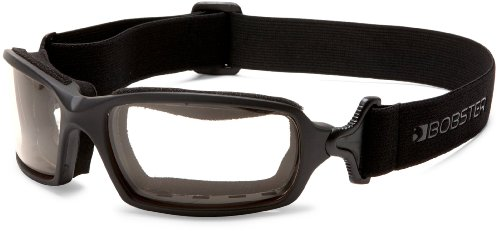Bobster Fuel Biker Goggles, Black Frame/Anti-fog Smoke Photochromic - Biker Goggles Prescription