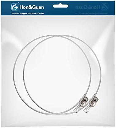 Hon&Guan Abrazadera Manguera Ajustable de Acero Inoxidable para Tubo, Ventilador Extractor de Aire - 2 piezas (200mm): Amazon.es: Bricolaje y herramientas