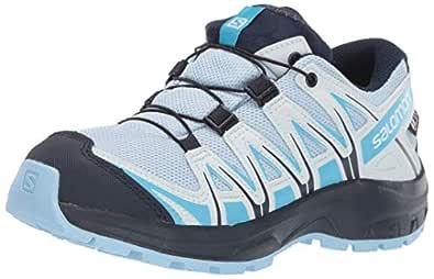 SALOMON Unisex-Adult L40643300 Kids' Xa Pro 3D CSWP J Trail Running Shoes Blue Size: 1