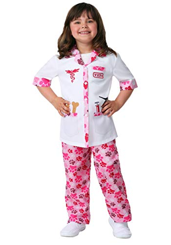 Girl's Veterinarian Costume Medium -