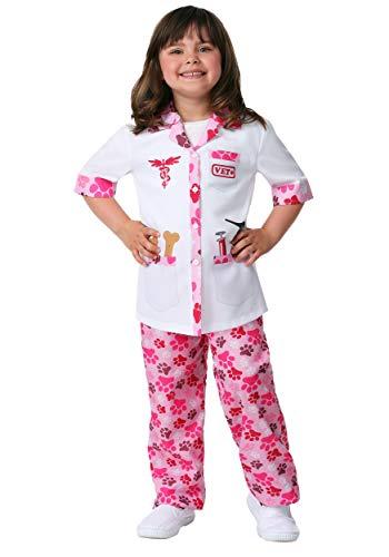 Girl's Veterinarian Costume Medium