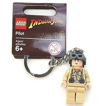 Lego Indiana Jones Pilot Key Chain Amazoncouk Toys Games