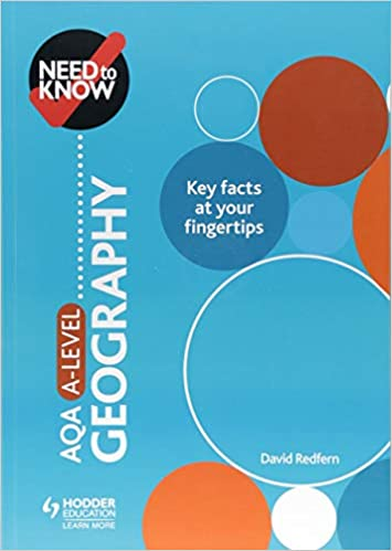 Need to Know: AQA A-level Geography: Amazon co uk: David