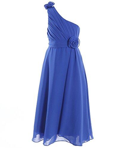 blue grecian dress - 5
