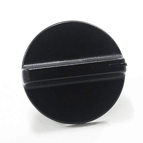 154338303 Dishwasher Timer Knob Genuine Original Equipment Manufacturer (OEM) Part Black