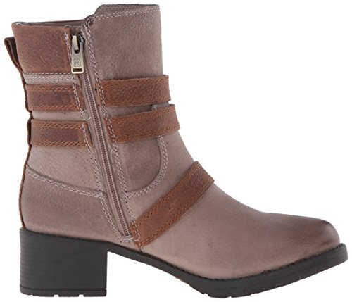Grey Tumble Rockport Women's Buckle Boot Casuals Misty City Rola pZ8Wq0p