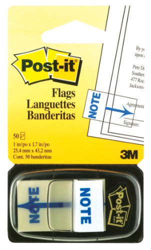 Post-it Printed Message Flags,