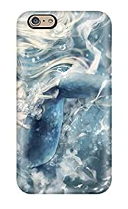 6 Scratch-proof Protection Case Cover For Iphone/ Hot Original Anime Mermaid Phone Case