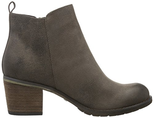 BUFFALO B241f-42 P2066c Pu, Zapatillas de Estar por Casa para Mujer Gris - Grau (Taupe 01)
