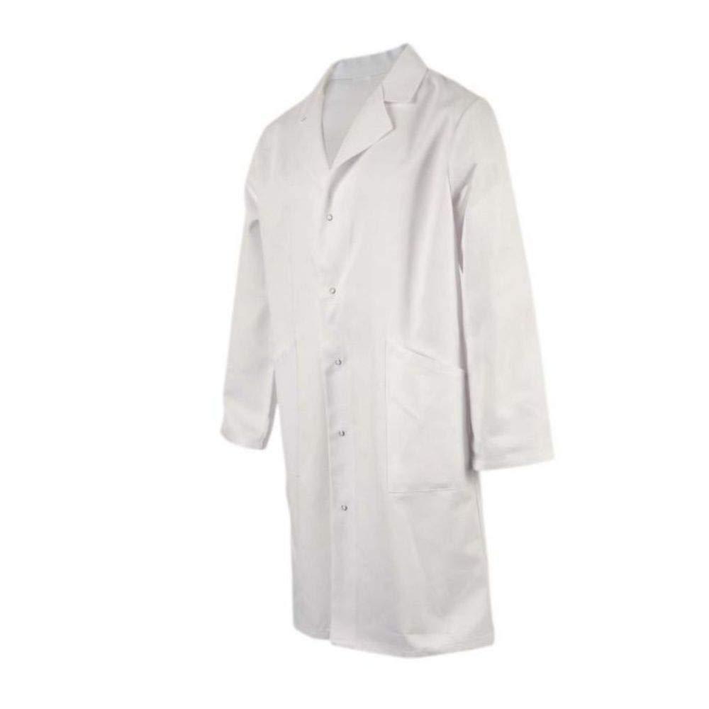 Blouse Chimie ROBUR Litchi 100/% Coton Blanche