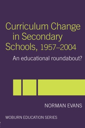 Curriculum Change in Secondary Schools, 1957-2004 (Woburn Education Series)