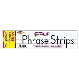 Trend Enterprises Wipe-Off Phrase Strips (30 Piece), 12\