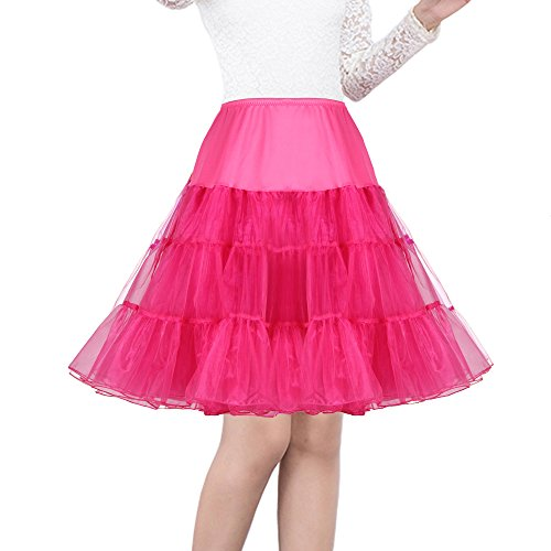 Shimaly Women's 50s Vintage Petticoat 26