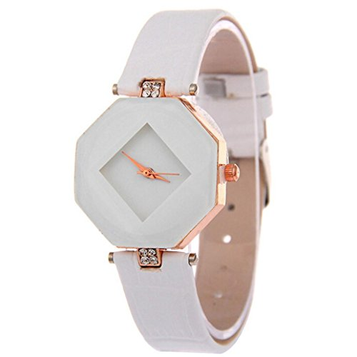 Auwer Watches, Women's Rhinestone Wristwatch Ladies Dress Watch Quartz Watch-Blue - Kors Face Rose Gold Michael Blue