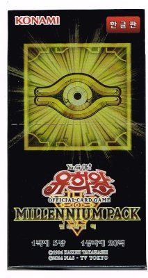 Yu-Gi-Oh! Konami Yugioh Card Millennium Pack Booster Box 20 packs TCG OCG 100 Cards Korean Version Photo